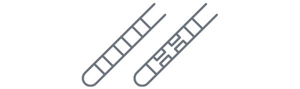 Icon of Vercise Genus DBS System directional lead and standard lead.