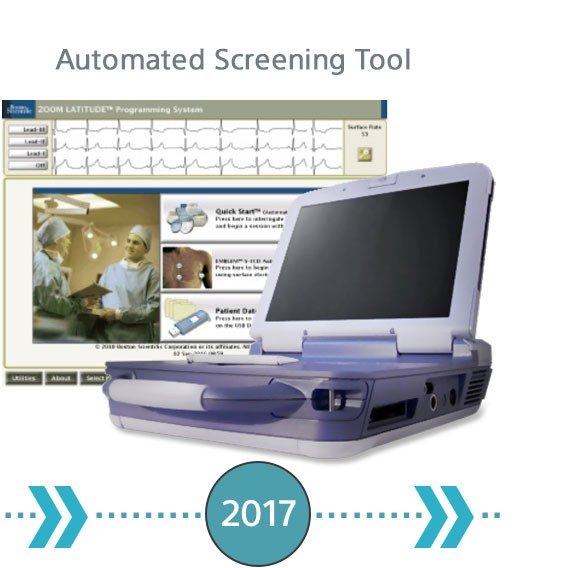 First Automated Screening Tool introduced in 2017.