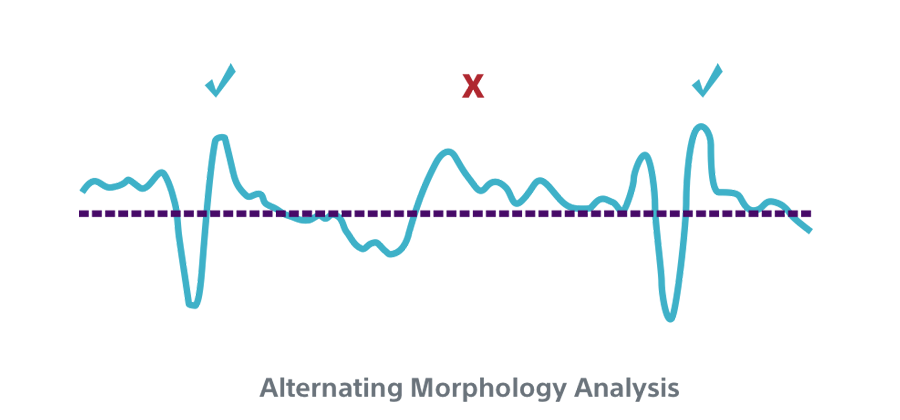 Alternating Morphology Analysis INSIGHT Technology algorithm.