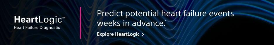 Heartlogic - Predict potential heart failure events weeks in advance. Explore Heartlogic >