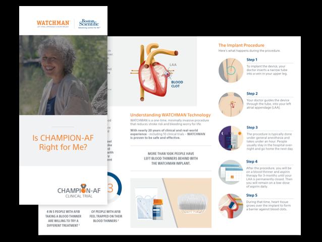 CHAMPION-AF Patient Brochure