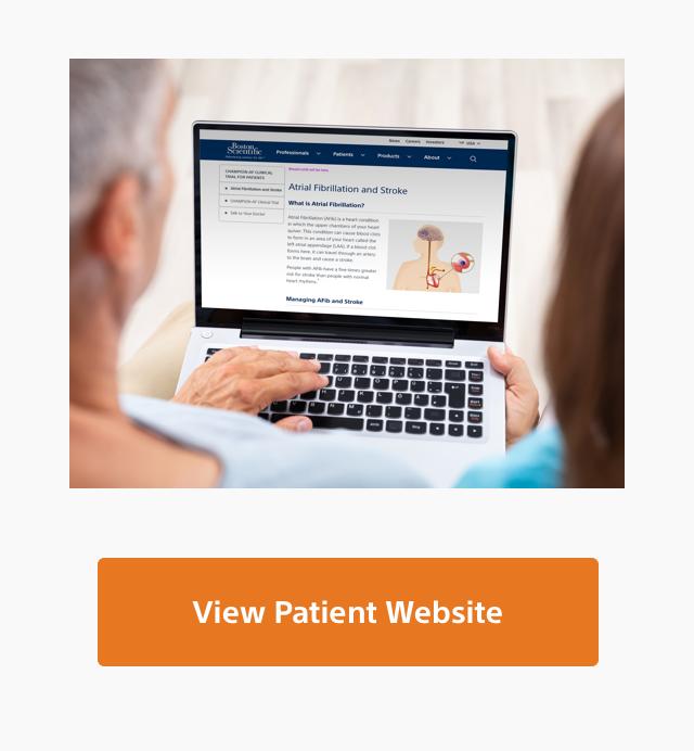 patients on laptop
