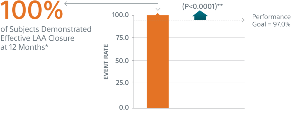 primary efficacy endpoint graph