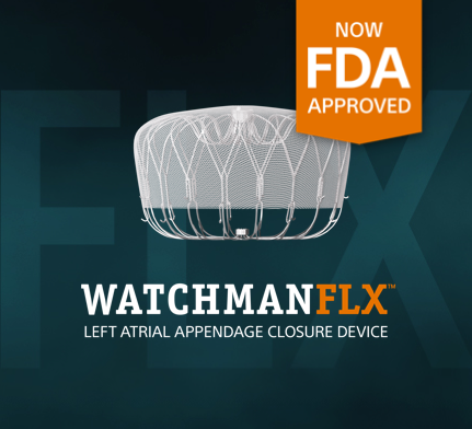 WATCHMAN PINNACLE FLX™ Left Atrial Appendage Closure Device - Now FDA Approved