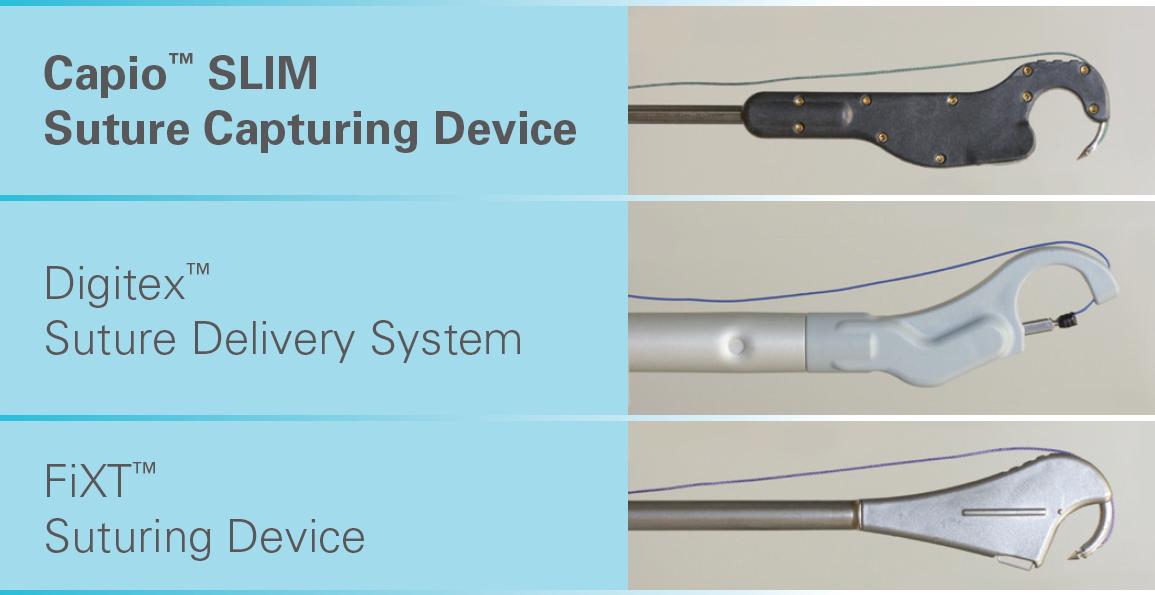 Capturing device comparison between FiXT, Digitex and Capio SLIM.