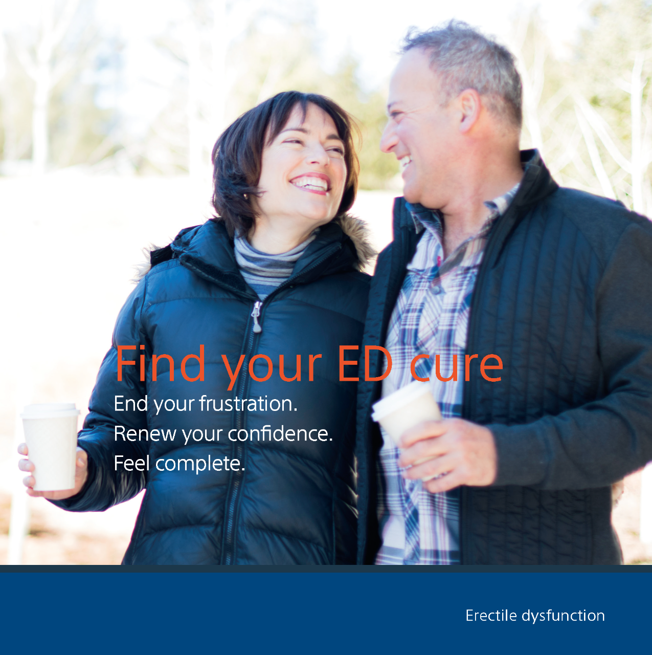 Find your ED Cure - Patient Education Brochure