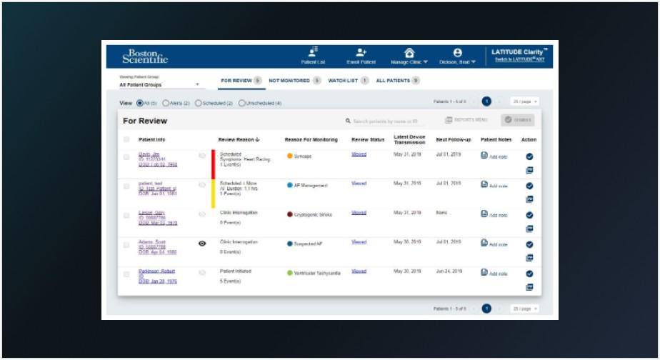 LATITUDE Clarity Data Management System