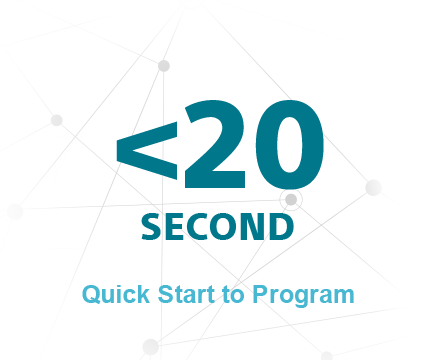<20 Second Quick Start to Program