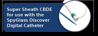 Super Sheath CBDE for use with the SpyGlass Discover Digital Catheter image