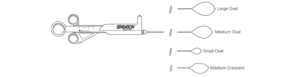 Sensation™ Single-Use Short Throw Snares