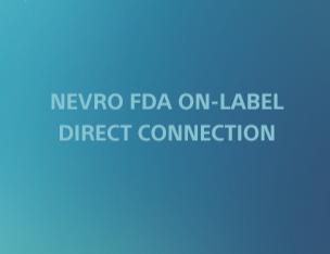 Nevro FDA On-Label Connection