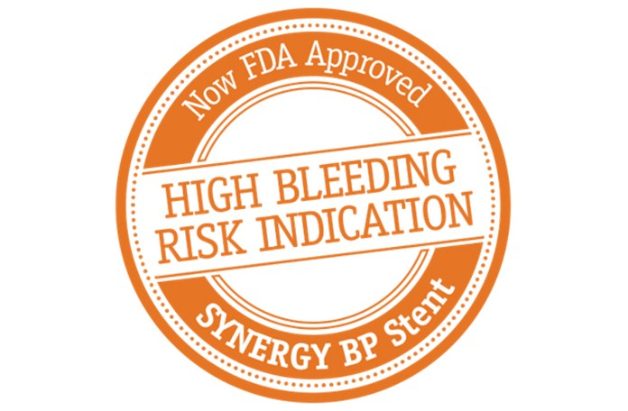 HIGH BLEEDING RISK INDICATION