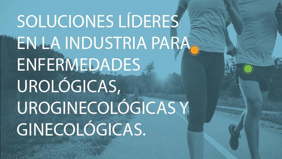 Soluciones líderes en el sector para enfermedades urológicas, uroginecológicas y ginecológicas.