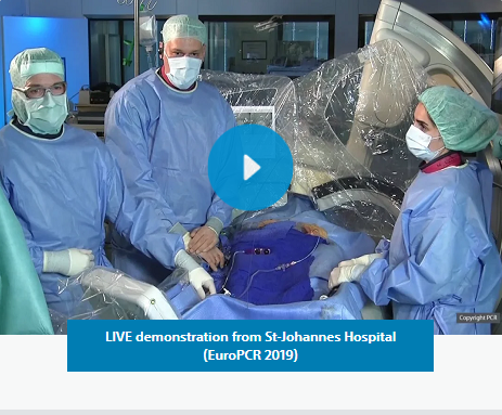 LIVE demonstration from St-Johannes Hospital