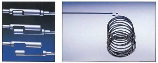 la bobina se acopla mecánicamente