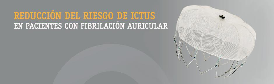 Dispositivo de cierre de la orejuela auricular izquierda