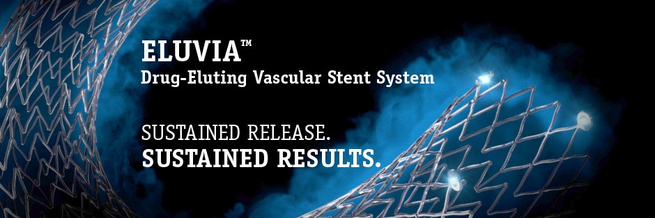 detalles de producto del sistema de stent vascular farmacoactivo Eluvia