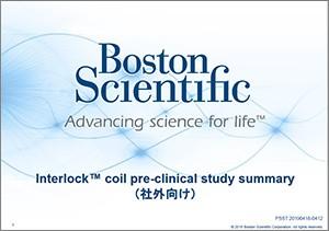 Interlock coil pre clinical study summary