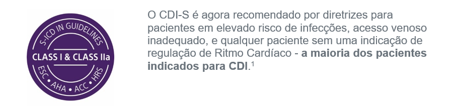 O CDI-S é Recomendado por Diretrizes