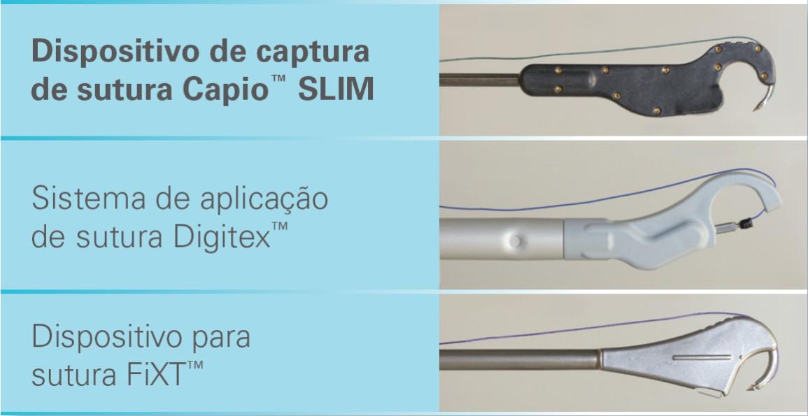 Comparação entre as cabeças dos dispositivos