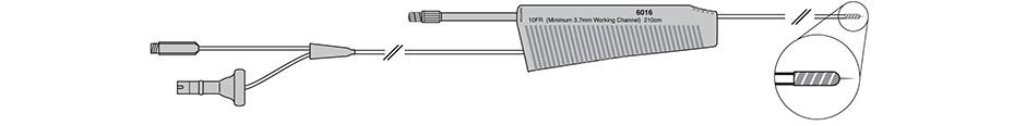 Injection Gold Probe Single-Use Electrohemostasis/Injection Catheters