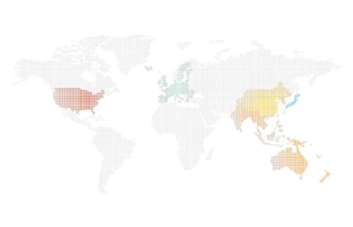 PLATINUM Stent Trial World Map